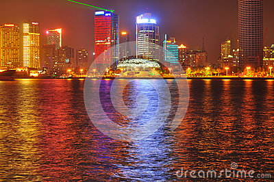 China Shanghai Skyline Editorial Stock Image
