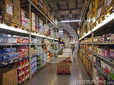 China Supermarket Editorial Stock Photo