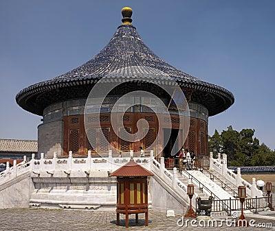 China - Temple of heaven Complex Editorial Photo