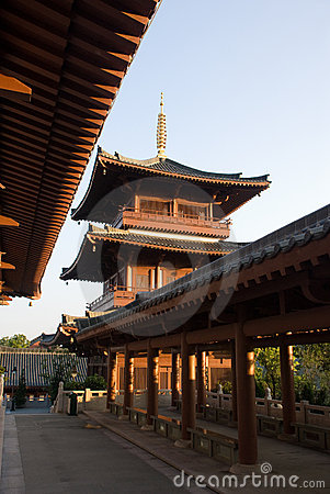 China Temple s Pagoda Tower