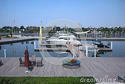 China Tianjin , Yachts Docks