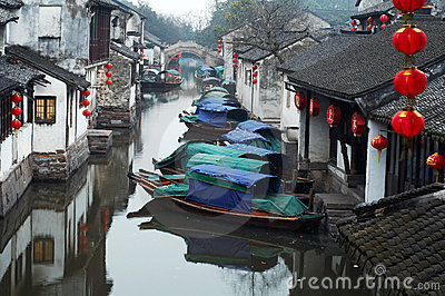 China tourism: Zhouzhuang ancient Water town