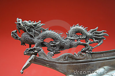 China Town Temple Dragon