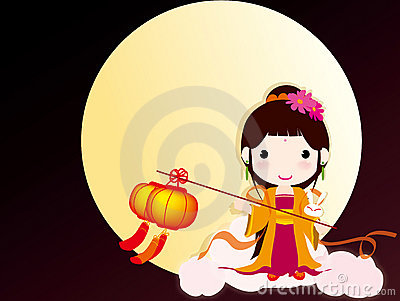 China traditional festival Mid-Autumn