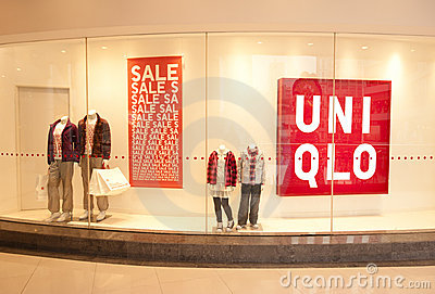 China: UNIQLO store Editorial Photography