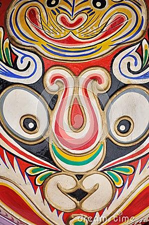 China western totem pattern