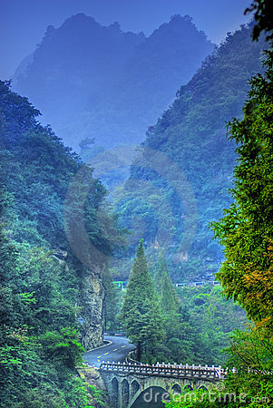 China Wudang Mountains Royalty Free Stock Photography - Image: 4363537