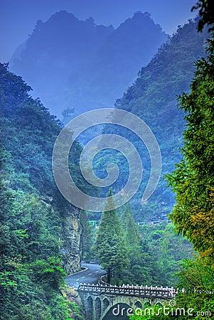 Free China Wudang Mountains Royalty Free Stock Photography - 4363537