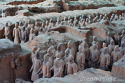China/Xian:Terracotta Warriors and Horses