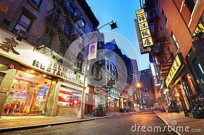 Chinatown Editorial Stock Photo