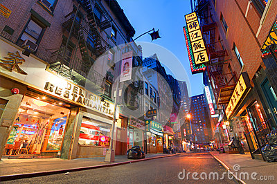 Chinatown Editorial Stock Image
