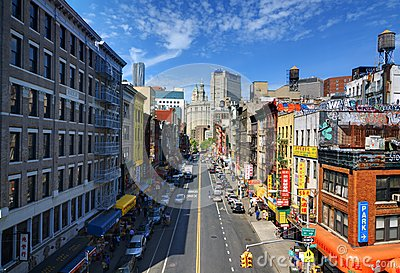 Chinatown NYC Editorial Stock Image