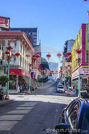 Free Chinatown, San Francisco Stock Images - 100208064