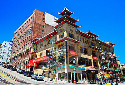 Chinatown, San Francisco Editorial Image