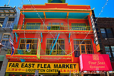 Chinatown, San Francisco Editorial Photography