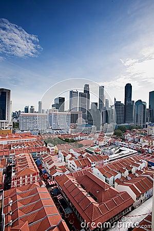 Free Chinatown Singapore Royalty Free Stock Photo - 8512805