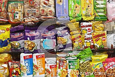 Chinatown Snacks Editorial Photo
