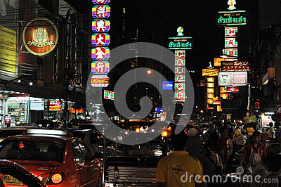 Chinatown View Editorial Image