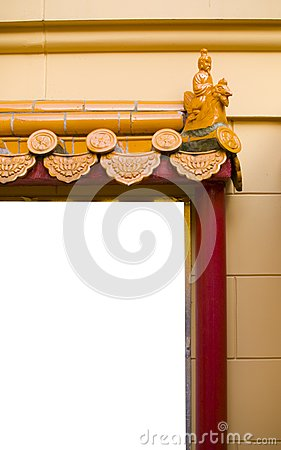 Chines Temple Stock Image - Image: 7954261