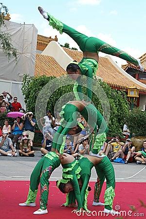 Free Chinese Acrobats Stock Photo - 11616400