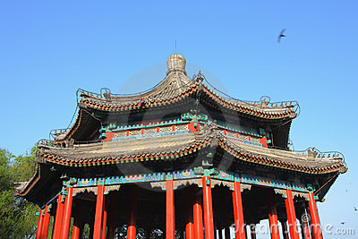 Chinese alcove
