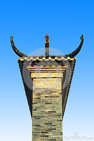 Free Chinese Ancient Architecture Building China Royalty Free Stock Photography - 46981777