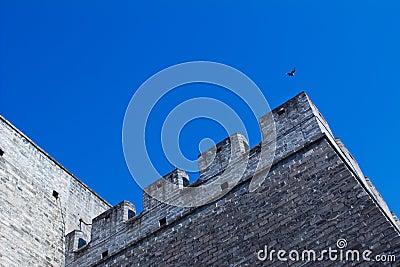Chinese ancient city wall