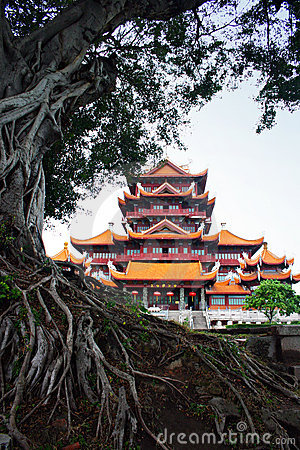 Free Chinese Ancient Temple Architecture, China Royalty Free Stock Photography - 4765447