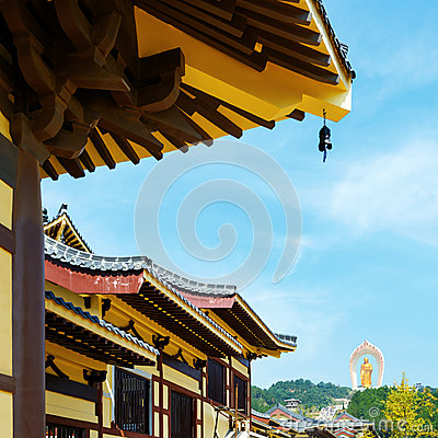 Chinese Ancient Temple