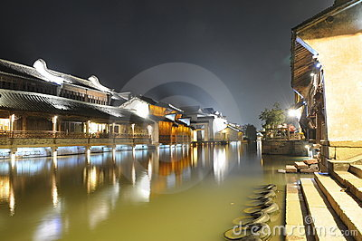 Chinese ancient watery town
