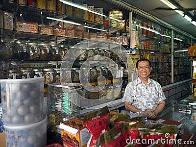 Chinese Apothecary - Kuala Lumpur - Malaysia Editorial Photo