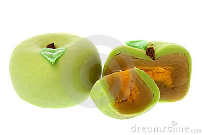 Chinese Apple Moon Cakes