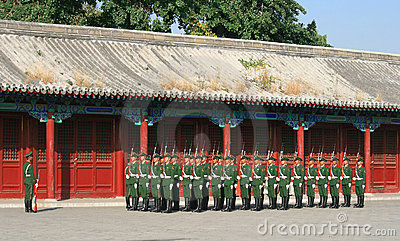 Chinese Army Editorial Photo