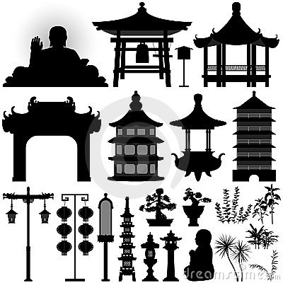Free Chinese Asian Temple Shrine Relic Stock Photo - 22355380