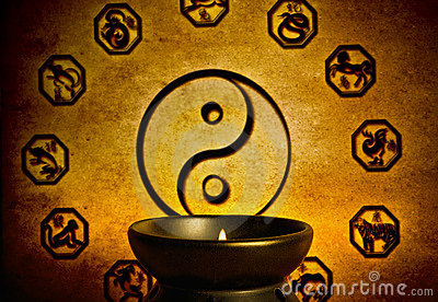 Chinese astrology and yin yang