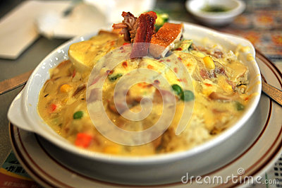 Chinese Bake Rice