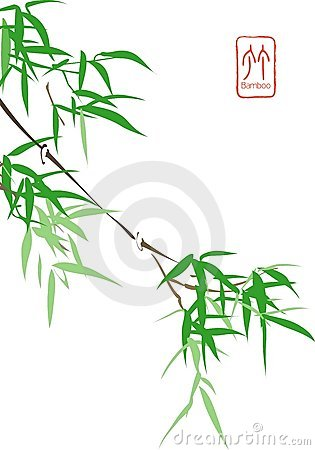 Free Chinese Bamboo Royalty Free Stock Images - 4493719