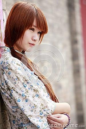 Chinese beauty portrait