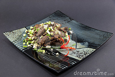 Chinese beef dish