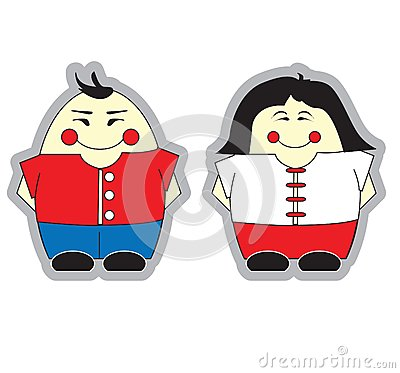 Chinese Boy and Girl