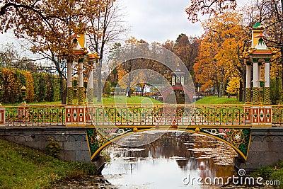 Chinese Bridge in Alexander`s park
