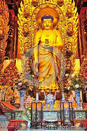 Chinese buddhist shrine