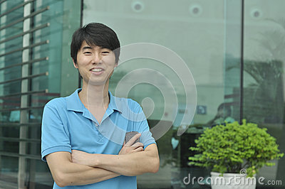 Chinese business man