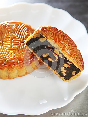 Chinese cake, moon cake