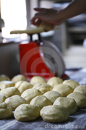 Chinese cake and steam bun dough