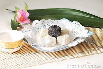 Chinese cakes and pastries