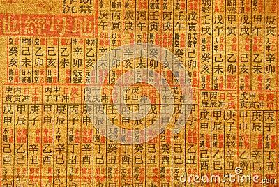 Chinese Calligraphy Background Royalty Free Stock Photo  Image 4330305