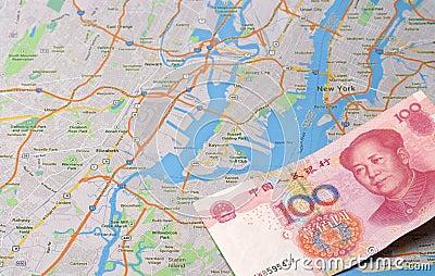 Chinese capital into NewYork