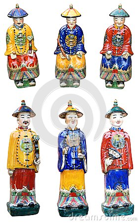 Chinese ceramic figurines