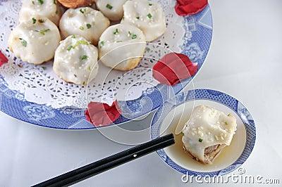 Chinese characteristic bun